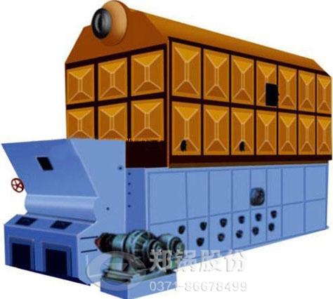 卧式燃煤锅炉分层燃烧技术优点