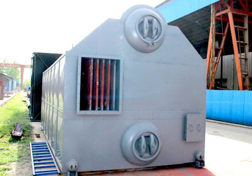 制造啤酒的40吨燃煤蒸汽锅炉